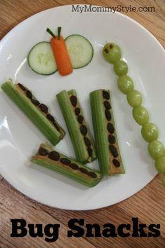 Healthy bug snacks mymommystyle.com