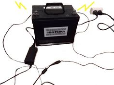 How To Charge A Car Battery Without A Charger (TIPS)