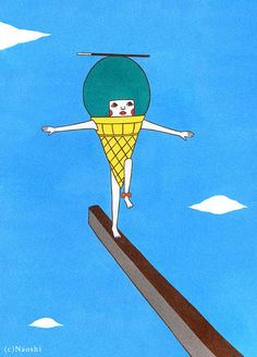 "Naoshi Sunae ""Balance -It is important for everything-"""
