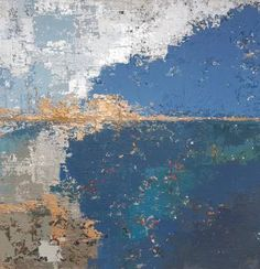 "Saatchi Art Artist Magdalena Szmydtke; Painting, ""City by the sea"" #art"