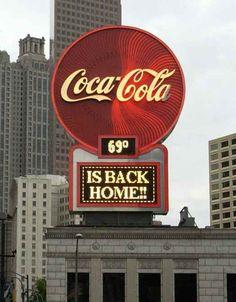 neon Sign coca cola vintage - Buscar con Google