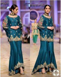 ideas bridal drees eastern for 2019 Pakistani Fashion Party Wear, Pakistani Formal Dresses, Shadi Dresses, Pakistani Wedding Outfits, Indian Bridal Outfits, Pakistani Dress Design, Indian Designer Outfits, Indian Fashion, Pakistani Designers