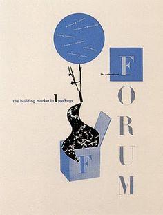 Paul Rand (1914 - 1996) - american graphic designer - one of the originators of the Swiss Style.