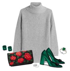 """""""Untitled #852"""" by elli-skouf ❤ liked on Polyvore featuring Woolrich, Mulberry, Effy Jewelry and Alice + Olivia"""