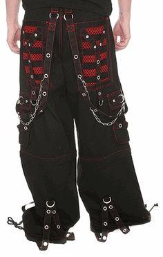 "Tripp NYC ""Armageddon"" Pants (Black / Red)"