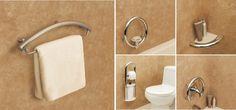 Universal Design Elements - The Invisia Collection Shower Grab Bar, Grab Bars In Bathroom, Bathroom Accessories Luxury, Shower Accessories, Home Design, Best Bathroom Designs, Bathroom Ideas, Shower Ideas, Design Bathroom