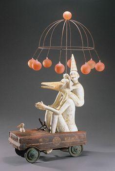 amazing sculptor, Lisa Clague
