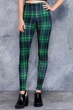 Tartan Punk Green Toasties  › TARTAN SERIES › Black Milk Clothing