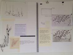 Clutch bag development sketchbook