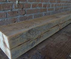 Reclaimed Barn Beam Mantle 66
