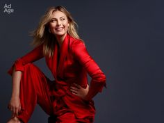 Maria's Twitter: In case you missed it - photos by Robert Trachtenberg from @adage shoot. Story here: http://adage.com/article/news/maria-sharapova/311055/