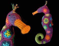 Seahorse crochet pattern PDF amigurumi 001 by MamasCrochetPatterns, €4.60