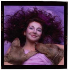 Kate Bush - Hounds Of Love are Smiling #katebush Yirry Yanya @YirryYanya Alternative cover