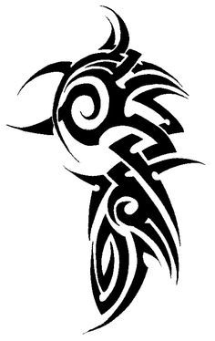 Image Result For Upper Arm Tribal Tattoo Two Lines Tribal Tattoos Celtic Tribal Tattoos Tribal Arm Tattoos
