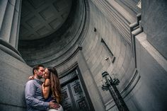 A photograph from an engagement shoot in Montreal. #engaged #montreal #photography #wedding