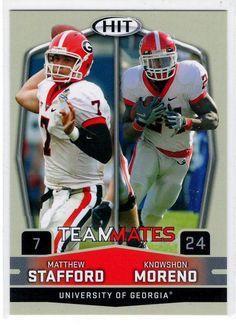97ed8bb197d Sports Cards Football - 2009 Sage HIT (Teammates) Matthew Stafford    Knowshon Moreno