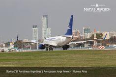 "Boeing 737 Aerolineas Argentinas | Aeropuerto Internacional ""Jorge Newery"" | Buenos Aires, Argentina"
