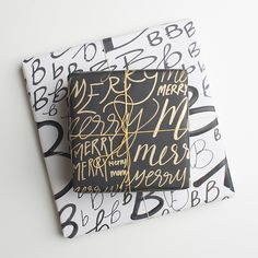 hand-drawn wrapping