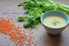 Rezept für eine cremige Rote Linsen Suppe - perfekt für kalte Wintertage!