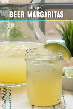 "Beer Margaritas | ""Great summertime drink! I used Bud Light Lime. Fast, easy, and tasty for someone who likes margaritas and doesn't like beer."""