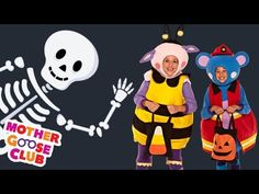 Halloween - A Haunted House on Halloween Night - Mother Goose Club Halloween Songs for Children - YouTube