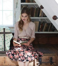 For me, books have always been the ultimate hideaway. Throughout my adolescence (and now, into adulthood) I've used books to put what I was feeling into words, to escape into magicalworlds, and re...