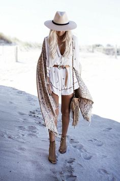 Quel style hippie chic femme jupe longue style hippie combishort adorable