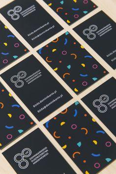 Wizytówki // Jubileusz 80-lecia Dominikańskiego Duszpasterstwa Dominikańskiego (1937/38 - 2017/18). Projekt: Justyna Czyżak. Druk: Drukarnia Krüger Plus, Poznań. Foto: Krzysztof Nowak. Playing Cards, Game Cards