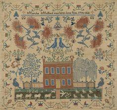 Sampler   The Museum of Fine Arts, Houston 1824