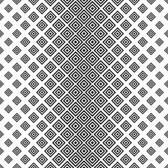 Seamless black white square pattern