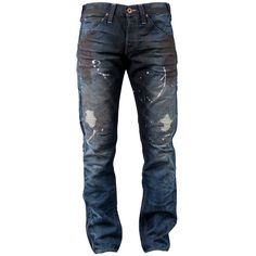 TRUE RELIGION Geno slim fit jean (2,215 GTQ) ❤ liked on Polyvore featuring mens, men's clothing and men's jeans