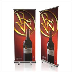 Pull Up Banner Econo Cost effective and ideal for any exhibition or branding opportunity Lightweight and easy to transport in its own carrier bag Simple to set-up Sizes available: (h) x (w), (h) x (w), (h)x (w) Wall Banner, Wine Rack, Banners, Opportunity, Branding, Display, Simple, Bag, Home Decor