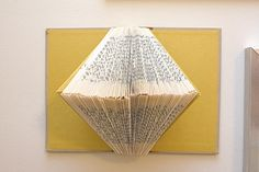 Turn old books (or ones you never even read) into works of art.