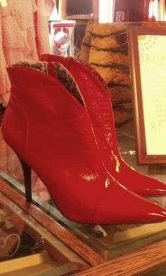 These are the ruby red slippers that Nessa rose should have worn.