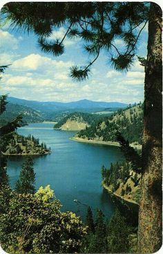 Coeur d'Alene Lake,  Idaho