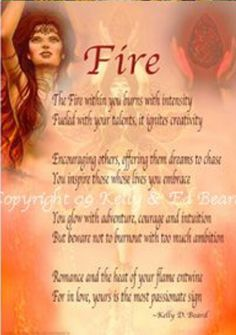 Fire- Pinned by The Mystic's Emporium on Etsy