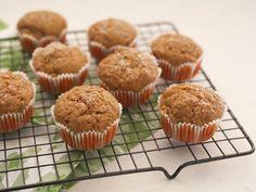 Muffins Integrales de Zanahoria - Que Rica Vida