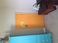 monsters inc door with a little oops paint i can now say i love my