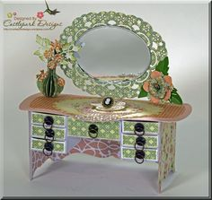 Wow! Cheery Lynn Designs July 2013 New Release - Matchbox Vanity