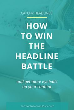 8 Easy Ways to Make People Click and Not Skip Your Headlines Email Marketing, Content Marketing, Business Marketing, Digital Marketing, Blog Planning, Blog Topics, Online Business, Business Tips, Creative Business