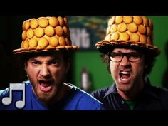 """Rhett and Link """"Nilla Wafer Top Hat Time"""" Rhett and Link can make a song out of ANYTHING"""