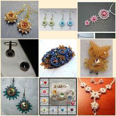 Bijoux components - Svět korálků Korálková výzva Crochet Necklace, Swarovski, Jewelry, Fimo, Jewlery, Jewerly, Schmuck, Jewels, Jewelery