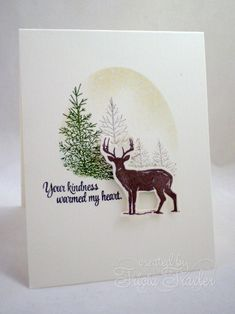 CAS300 - Your Kindness by T. Joy - Cards and Paper Crafts at Splitcoaststampers