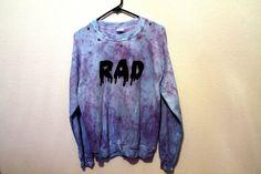 Hey, I found this really awesome Etsy listing at https://www.etsy.com/listing/181599633/last-one-tie-dye-dripping-rad-sweatshirt