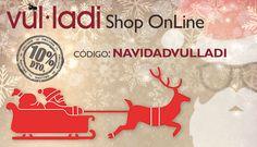 ¡48 horas con el 10% de descuento para tus compras navideñas! 🎅🏼🌲🎁  Compra ya en www.vulladi.com/shop Entregas en 48h/72h 📦   Promoción válida los días 18 y 19 de diciembre 2016 #vulladi #navidad #madeinspain