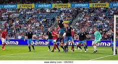 OSLO, NORWAY - Saturday, May 26, 2012: England's captain Steven Gerrard (Liverpool) in action against Norway - Stock Image
