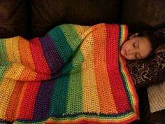 Slapen onder de regenboog