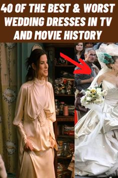#Best #Worst #Wedding #Dresses #Movie #History Winter Fashion Outfits, Trendy Outfits, Artsy Outfits, Worst Wedding Dress, Wedding Dresses, Almond Eye Makeup, Funniest Hilarious Memes, Summer Family Photos, Bra Hacks