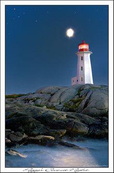 ~ Peggy's Cove, Nova Scotia, Canada