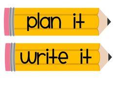 Classroom Freebies: Writing Process
